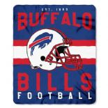 Buffalo Bills Football Established 1960 Fleece Throw Blanket